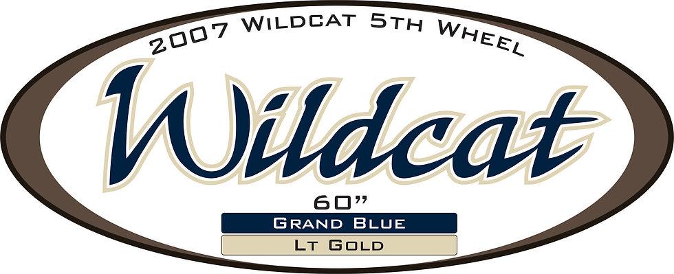 2007 Wildcat 5th Wheel