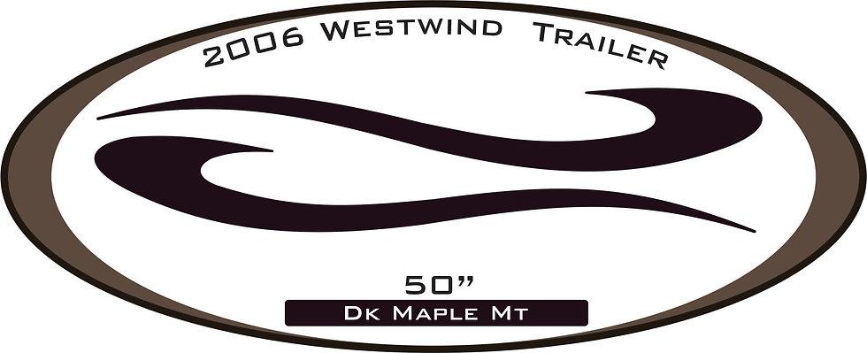 2006 Westwind Travel Trailer
