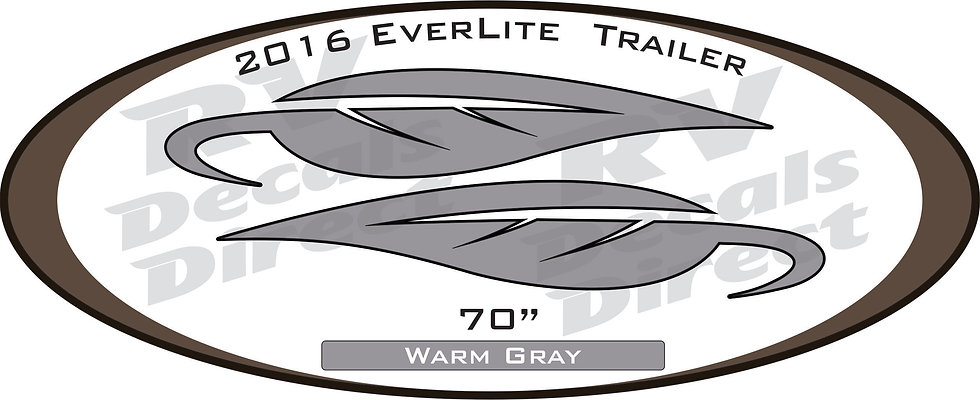 2016 Everlite Travel Trailer