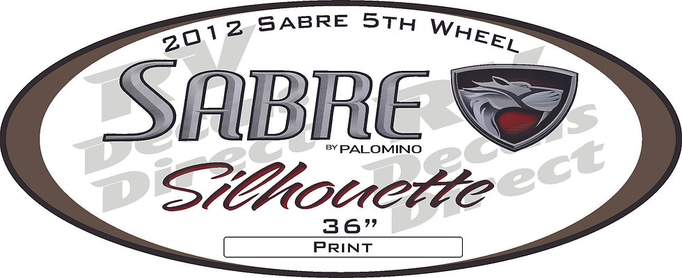 2012 Sabre 5th Wheel