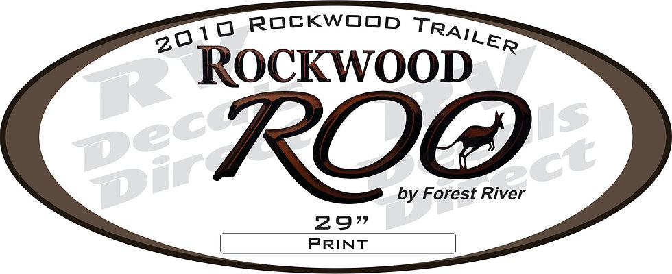 2010 Rockwood Roo Travel Trailer
