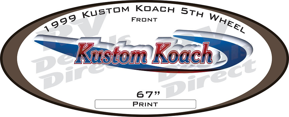 1999 Kustom Koach 5th Wheel