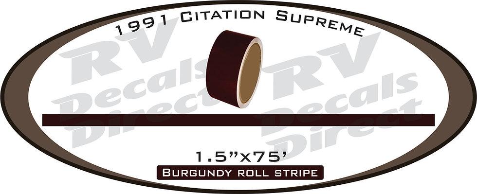 1991 Citation Supreme