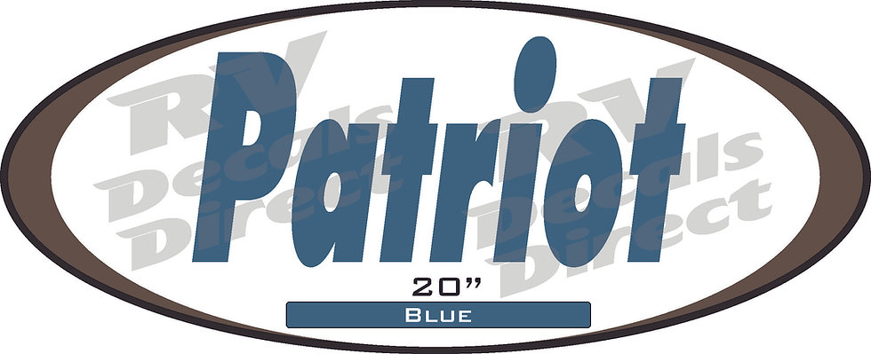 Patriot Decal