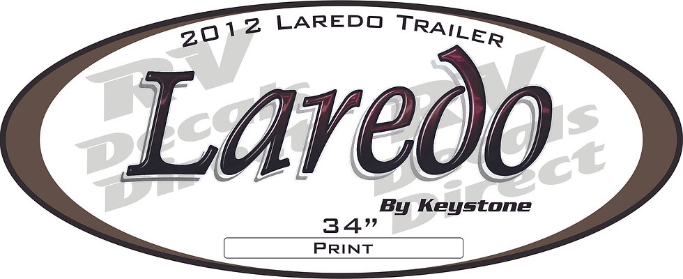 2012 Laredo Travel Trailer