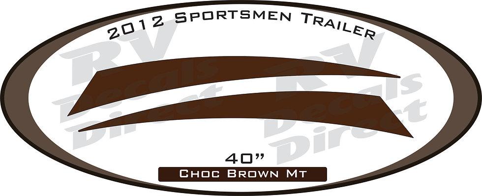 2012 Sportsmen Travel Trailer