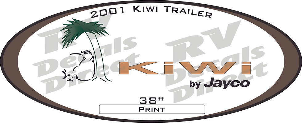 2001 Kiwi Travel Trailer