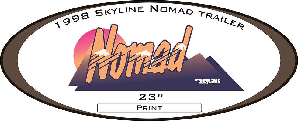 1998 Nomad Trailer