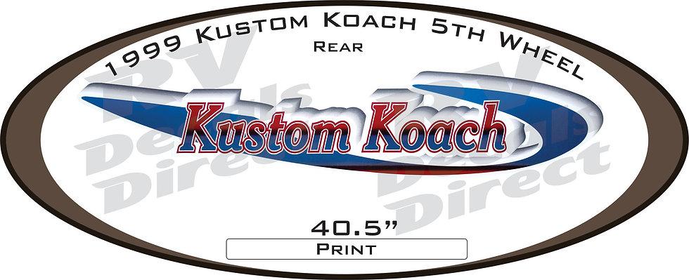 1999 Kustom Koach 5th Wheel