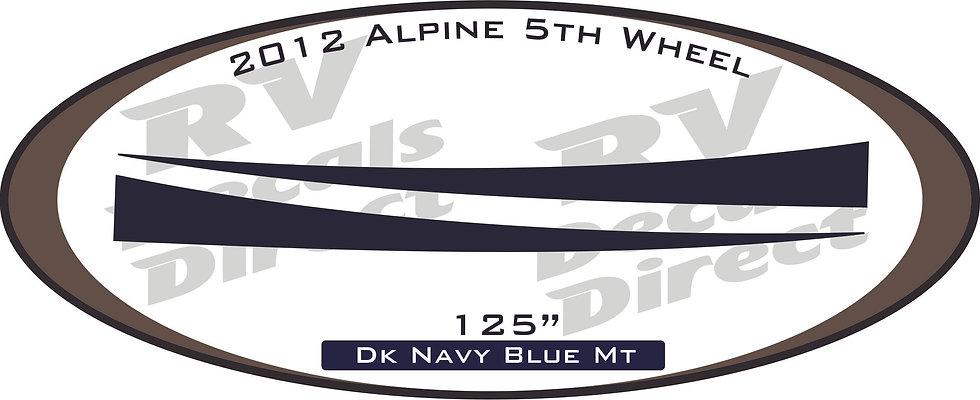 2012 Alpine 5th Wheel