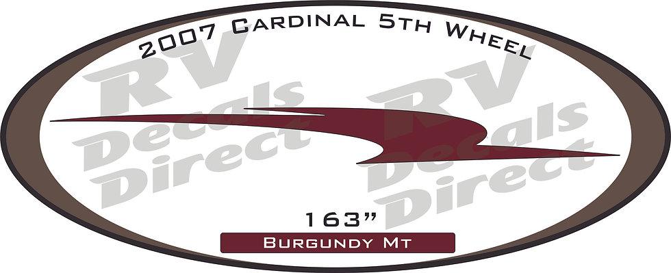 2007 Cardinal 5th Wheel