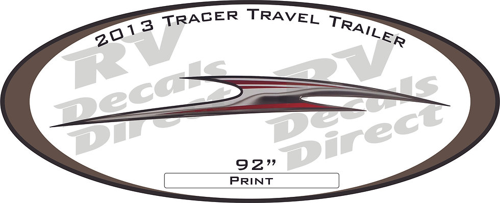 2013 Tracer Travel Trailer