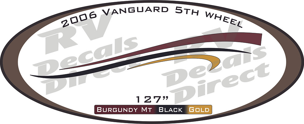 2006 Vanguard 5th Wheel