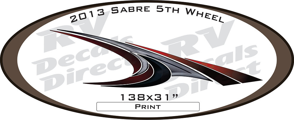 2013 Sabre 5th Wheel
