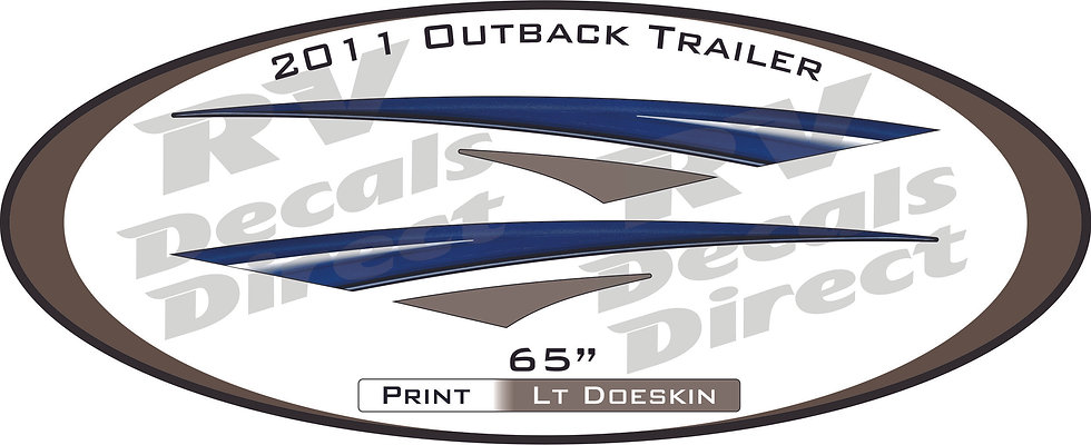 2011 Outback Travel Trailer