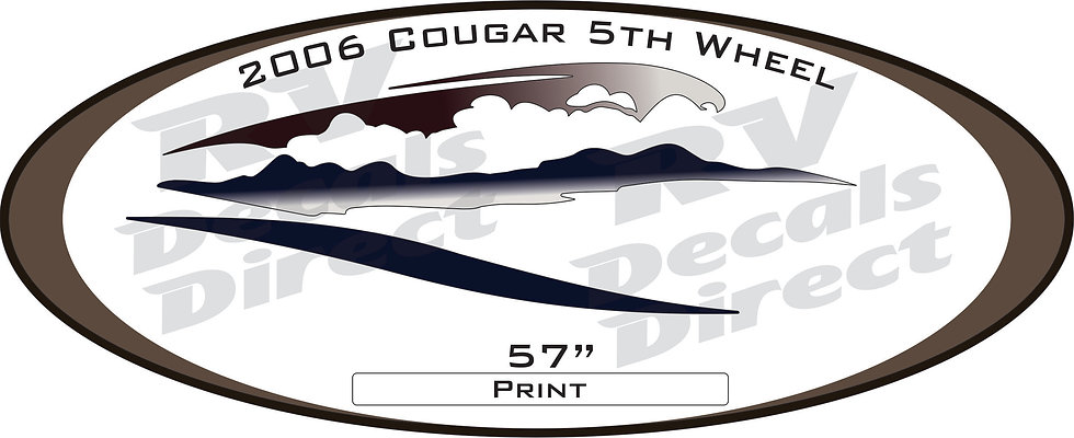 2006 Cougar 5th Wheel
