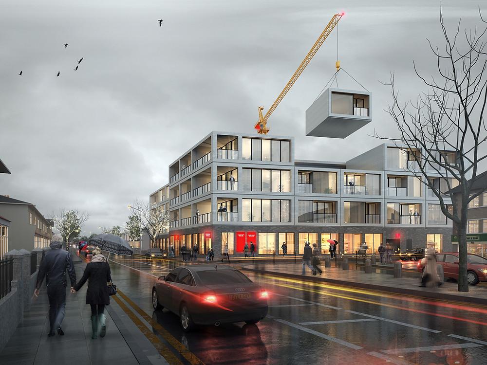 DfMA image courtesy of Ruff Architects