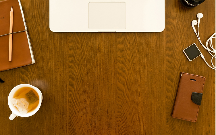 White Minimalist Flat Lay Gadgets Member