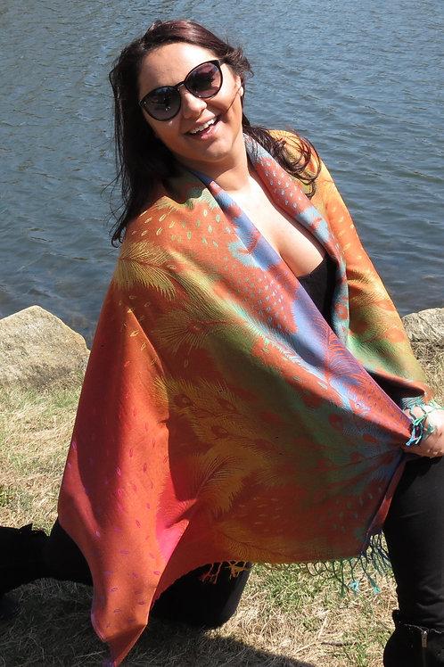 Peacock Pashmina