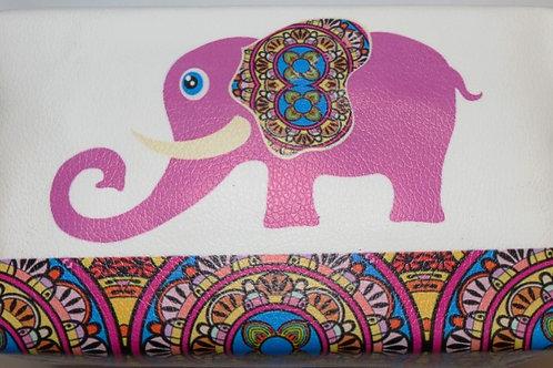 Pink Elephant Make Up Bag