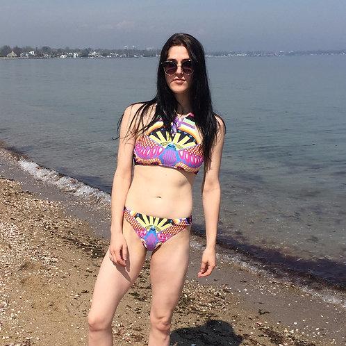 Aztec Racerback Swim Suit