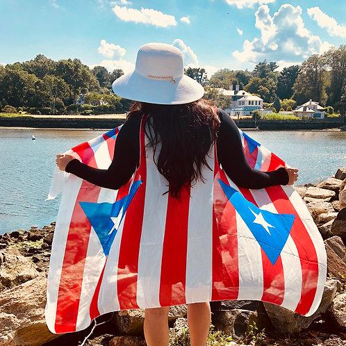 Puerto Rico Scarf Vest