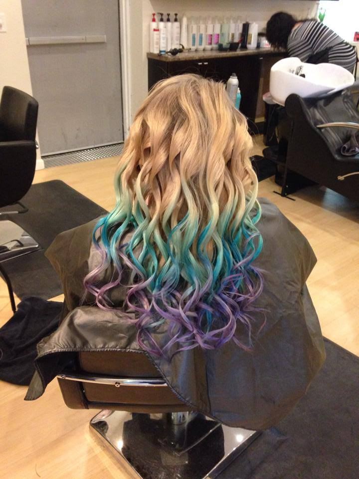 Fun Colored Ombre