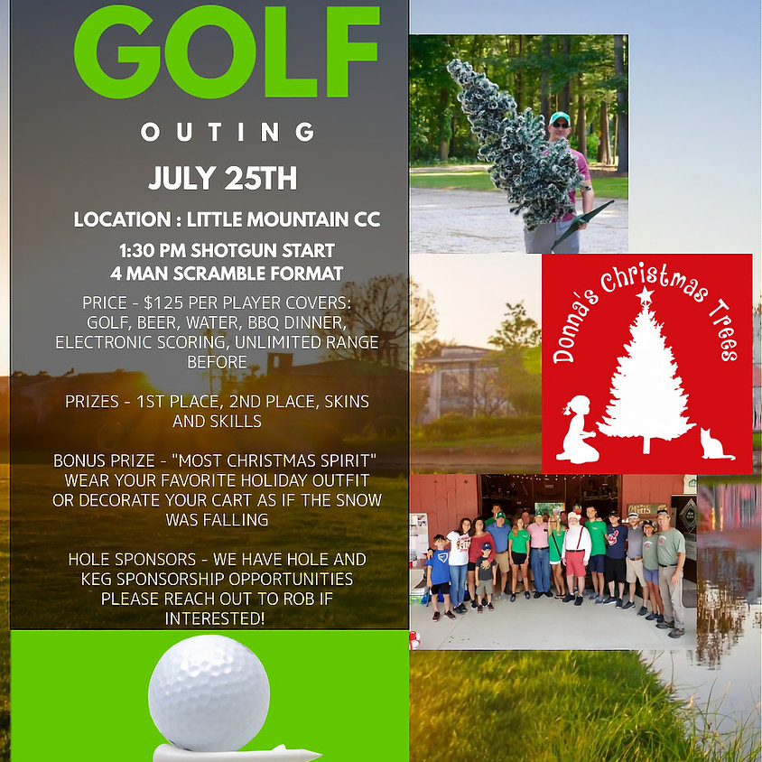 Christmas in July Golf Outing