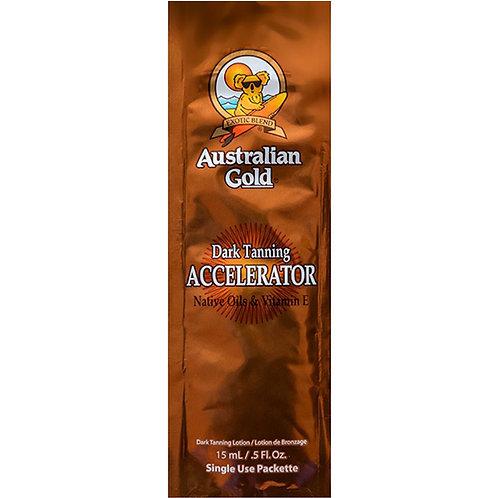 Australian Gold Dark Tanning Accelerator Lotion 15ml Sachet