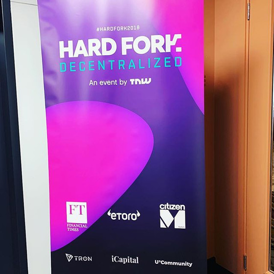 Hard Fork by TNW, London December 2018