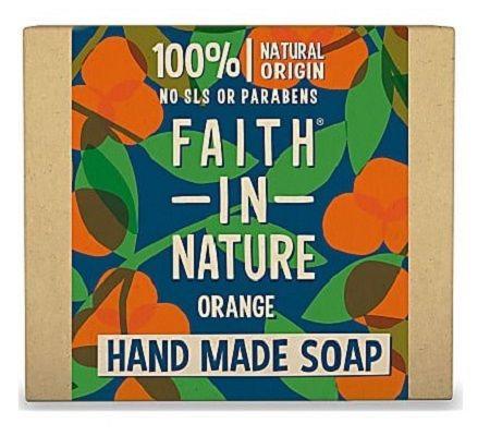 Faith in Nature Orange Hand Soap Bar 100g