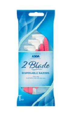 Asda 2 Blade Disposable Razor