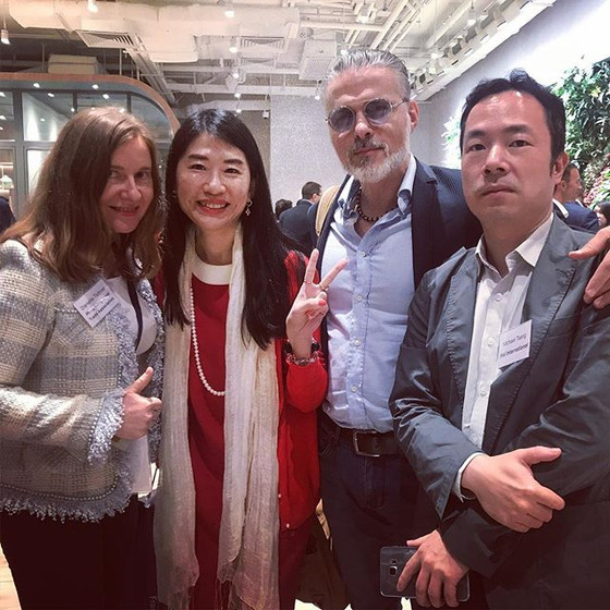 W-SOURCE Team at The Floor Opening Event in Hong Kong