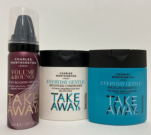 Charles Worthington Everyday Gentle Hair Kit