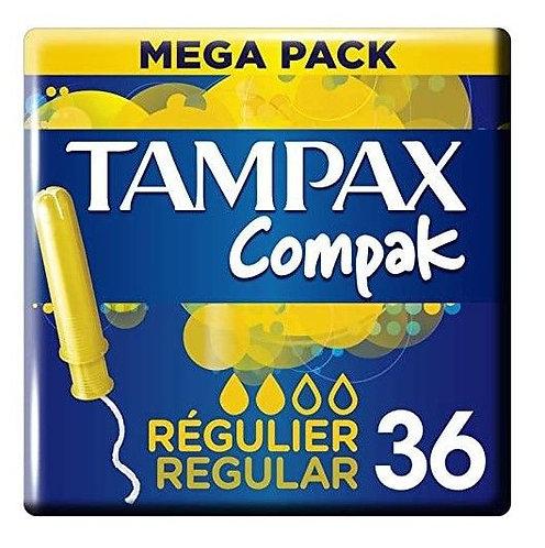 Tampax Compak Regular Tampons 36 pack