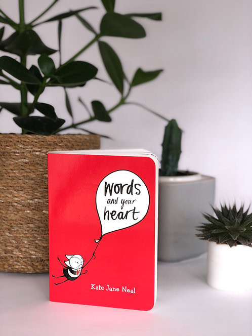 Words and Your Heart - board book