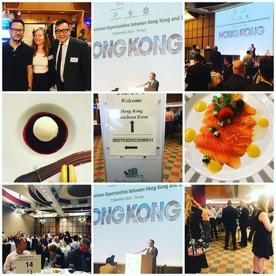 Hong Kong Delegation to Israel, September 2018
