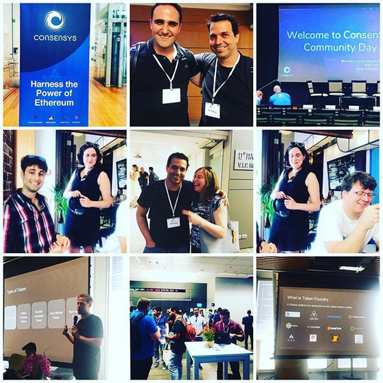 Consensys Days in Tel Aviv, June 2018