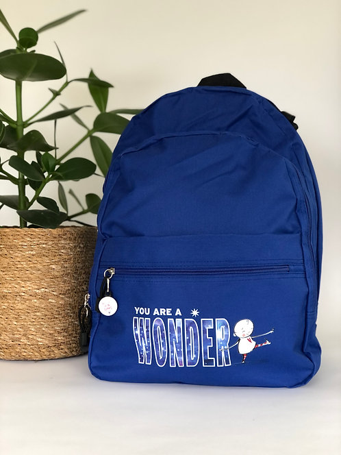 Backpack - 'You are a wonder'