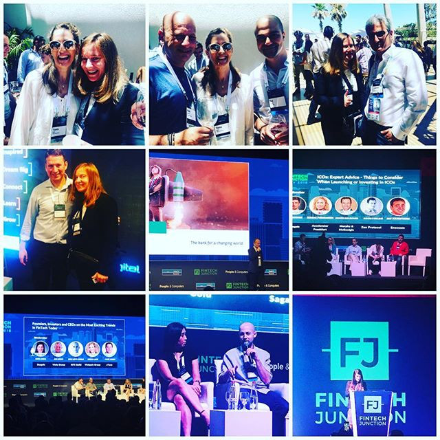Great times at Fintech Junction Tel Aviv! Meeting all the shakers & makers of Tel Aviv Fintech scene + some lovely guests, like our dear Laurent Nizri from Paris Fintech Forum!!!