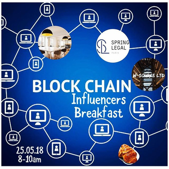 Blockchain Influencers Breakfast in Paris @VIVATECH