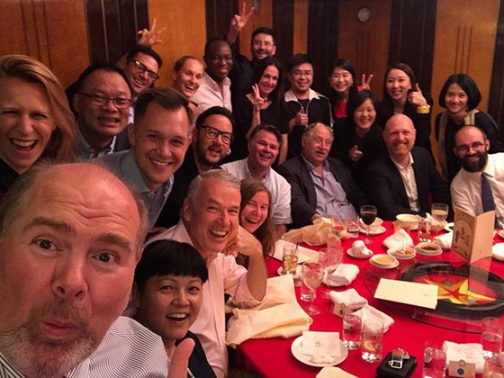 Gathering International Influencers in Hong Kong