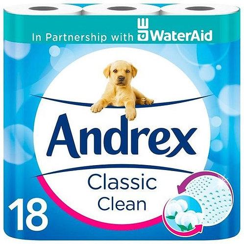 Andrex Toilet Rolls 18pk