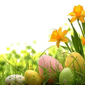 Pâques : les oeufs, le lapin et le Printemps