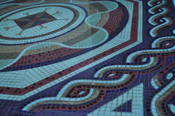 Detalle mosaico