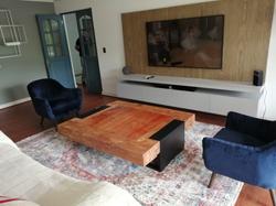 Living Mesa y Mueble TV