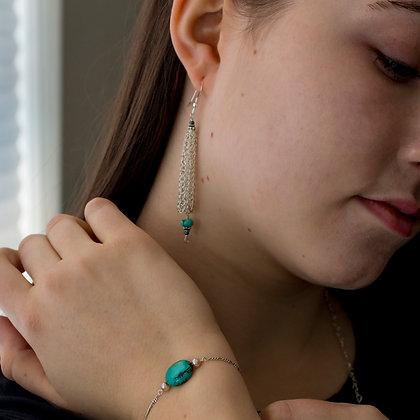 La Petite Clochette Stone Earrings
