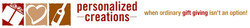 Personalized Creations Web Banner