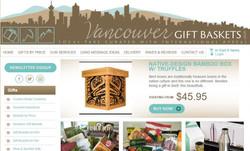 VancouverGiftBaskets website