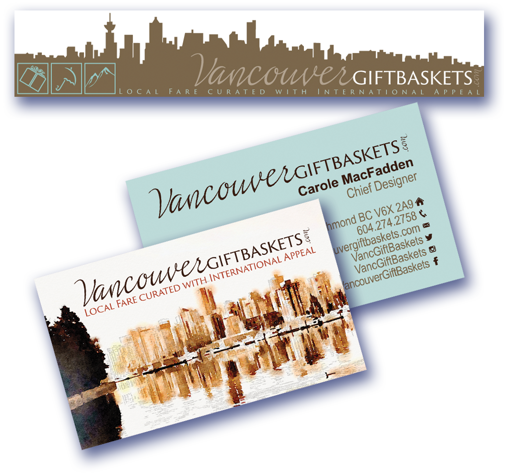 Vancouver Gift Baskets Print Media